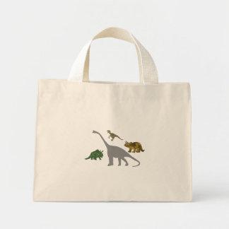 The 4 Dinos Mini Tote Bag