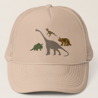 The 4 Dinos Trucker Hat