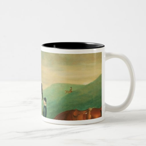 The 4th Lord Craven coursing at Ashdown Park Coffee Mugs