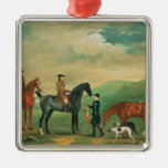The 4th Lord Craven coursing at Ashdown Park Christmas Tree Ornaments
