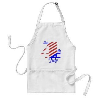 The 4th Of July Adult Apron