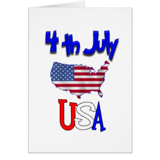 The 4th Of July Card
