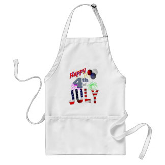 The 4th of July, Day of Independence Adult Apron