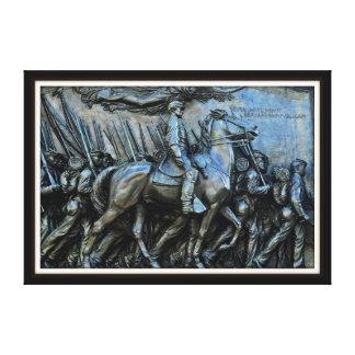 The 54th Massachusetts Volunteer Infantry Regiment Canvas Print