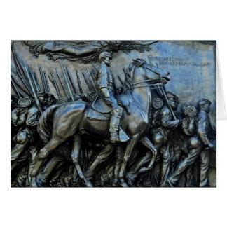 The 54th Massachusetts Volunteer Infantry Regiment Card