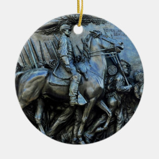 The 54th Massachusetts Volunteer Infantry Regiment Ceramic Ornament
