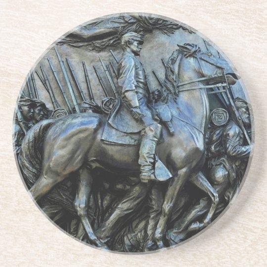 The 54th Massachusetts Volunteer Infantry Regiment Coaster