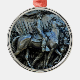 The 54th Massachusetts Volunteer Infantry Regiment Metal Ornament