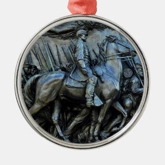 The 54th Massachusetts Volunteer Infantry Regiment Metal Ornament