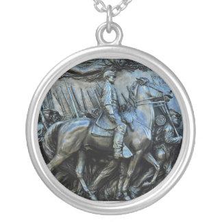 The 54th Massachusetts Volunteer Infantry Regiment Round Pendant Necklace
