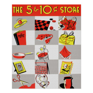The 5 and 10 Store Poster