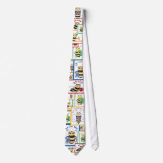 "The 5 ""Bee's"" Tie"