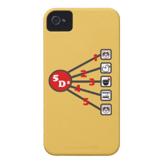 The 5 Ds of Dodgeball iPhone 4 Case-Mate Case