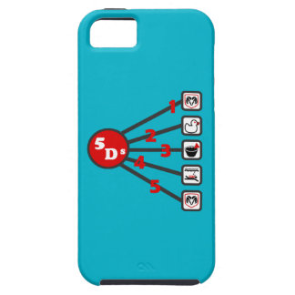 The 5 Ds of Dodgeball iPhone 5 Cover