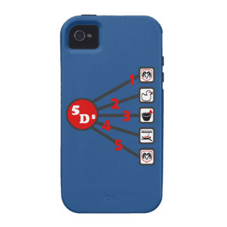 The 5 Ds of Dodgeball Case For The iPhone 4