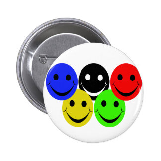 the 5 smileys pins