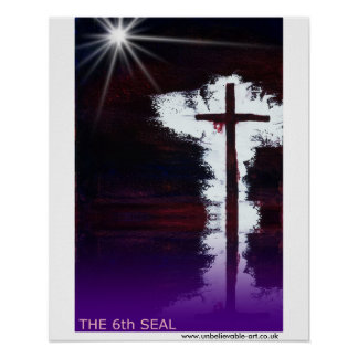 The 6th Seal, Christianity Poster