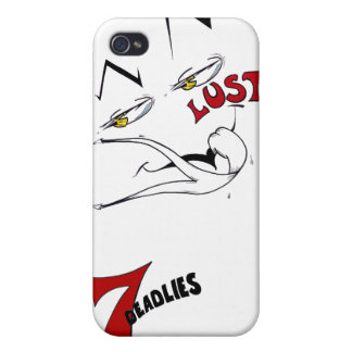 The 7 Deadlies — Lust iPhone 4 Case