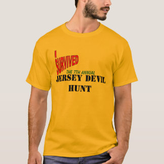 THE 7th ANNUAL JERSEY DEVIL HUNT T-Shirt