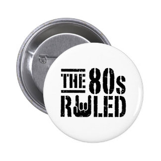 The 80s Ruled Button