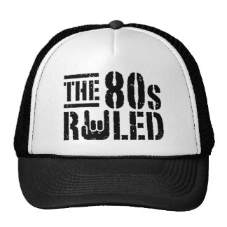 The 80s Ruled Trucker Hat