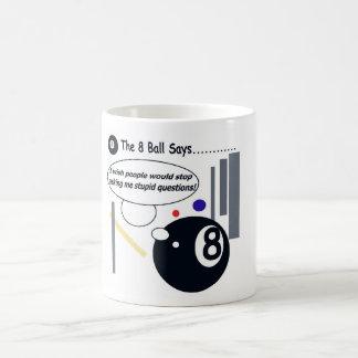 The 8 Ball Strikes Back Mug! Coffee Mug