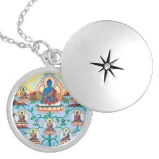 The 8 Medicine Buddhas - Healing Masters - locket