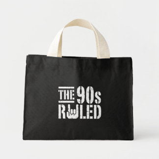 The 90s Ruled Tote Bag
