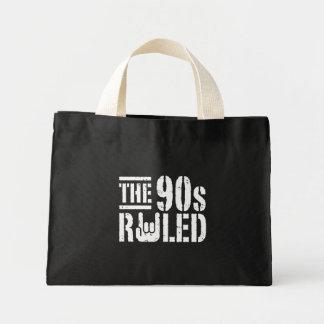 The 90s Ruled Mini Tote Bag