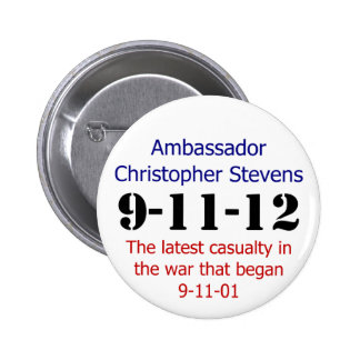 The 911 Anniversary Pinback Button