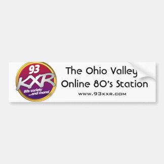 The 93 KXR Bumper Sticker