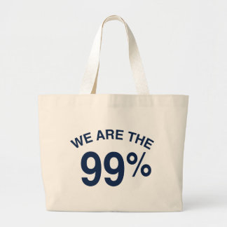 The 99% Are We Canvas Bag