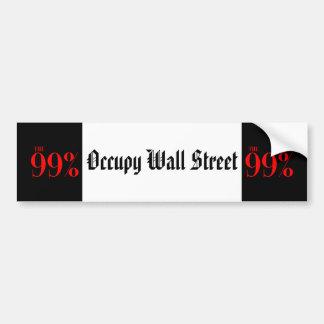 The 99% car bumper sticker