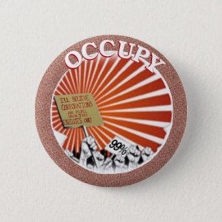 The 99 percent Occupy Pinback Button