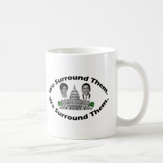 """The 9-12 Project - """"We Surround Them"""" Classic White Coffee Mug"""