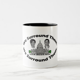 """The 9-12 Project - """"We Surround Them"""" Two-Tone Coffee Mug"""