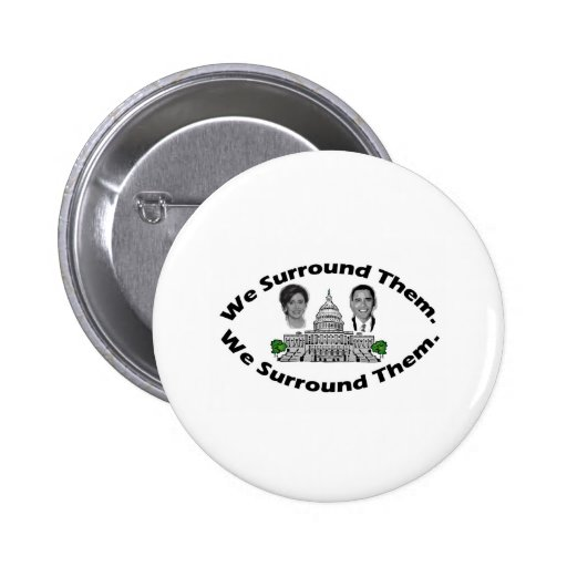 "The 9-12 Project - ""We Surround Them"" Pin"