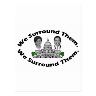 "The 9-12 Project - ""We Surround Them"" Postcard"