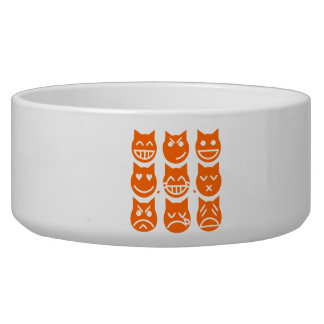 The 9 Lives of the Emoji Cat Bowl