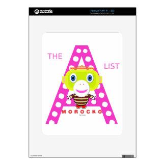 The A List-Cute Monkey-Morocko iPad Skins