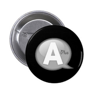 The A Plus Collection Pinback Button