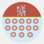 The A Spot Classic Round Sticker