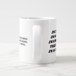 The AAWA Activists mug. Large Coffee Mug