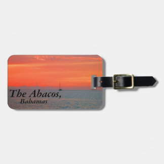 The Abacos Luggage Tag