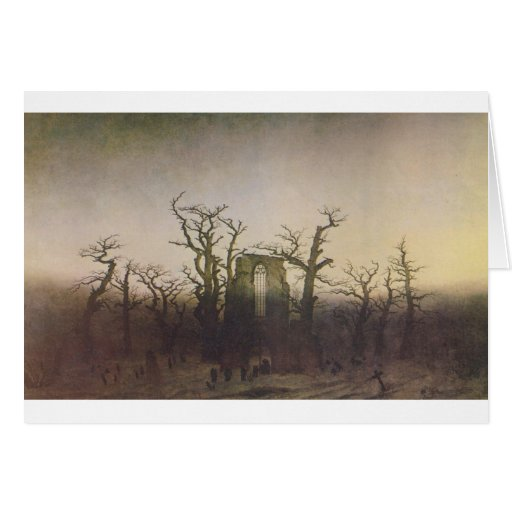 The Abbey in the Oakwood Greeting Card
