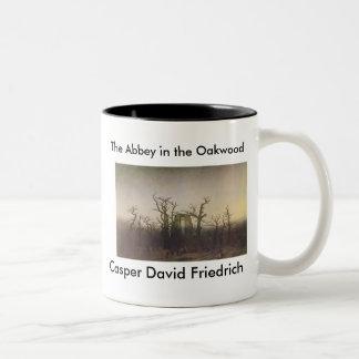 The Abbey in the Oakwood Two-Tone Coffee Mug