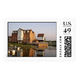 The Abbey Mill Postage Stamp