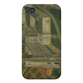 The Abbey of Saint-Bertin at Saint-Omer, 1776 Covers For iPhone 4