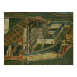 The Abbey of Saint-Bertin at Saint-Omer, 1776 Postcard