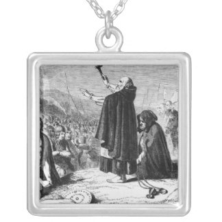 The Abbot of Inchaffray Square Pendant Necklace